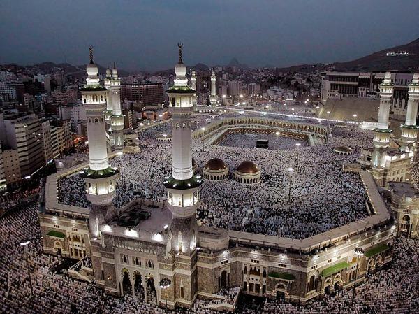 Al Masjid Al Haram In Kaba in Mekkah